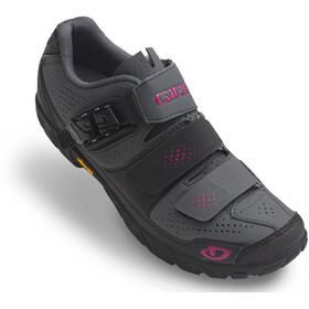 Giro Terradura Shoes Women dark shadow/berry